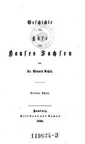 Geschichte der Hofe Hanses Sachsen