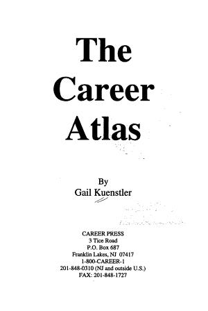 The Career Atlas PDF