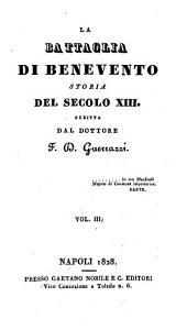 La battaglia di Benevento: storia del secolo XIII, Volume 3