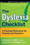 The Dyslexia Checklist