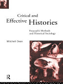 Critical And Effective Histories