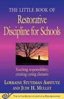 The Little Book of Restorative Discipline for Schools PDF