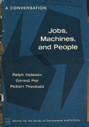Jobs, Machines, and People