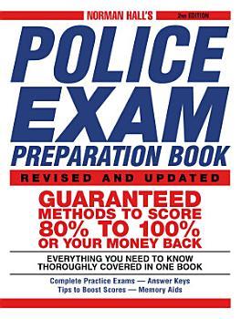 Norman Hall s Police Exam Preparation Book PDF
