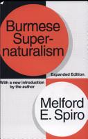 Burmese Supernaturalism PDF