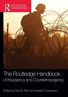 The Routledge Handbook of Insurgency and Counterinsurgency PDF