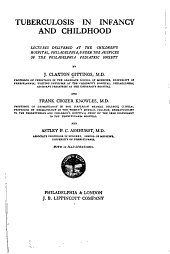Tuberculosis in Infancy and Childhood