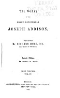 The Works of the Right Honourable Joseph Addison  The spectator  The Guardian  The lover  The present state of the war  and the necessity of an augmentation  considered  The late trial and conviction of Count Tariff  The Whig examiner  The Freeholder PDF