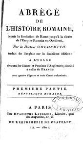 Abrégé de l'Histoire romaine: Volumes1à2
