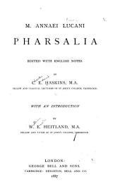M. Annaei Lucani Pharsalia