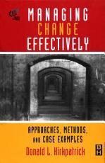 Managing Change Effectively PDF