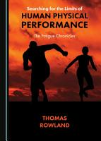 Searching for the Limits of Human Physical Performance PDF