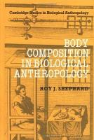 Body Composition in Biological Anthropology PDF