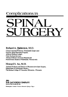Complications in Spinal Surgery PDF