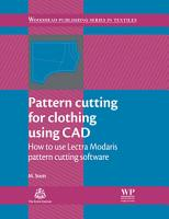 Pattern Cutting for Clothing Using CAD PDF