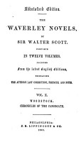 The Waverley Novels  Woodstock  Chronicles of the Canongate  the Highland widow  The two drovers  The surgeon s daughter PDF