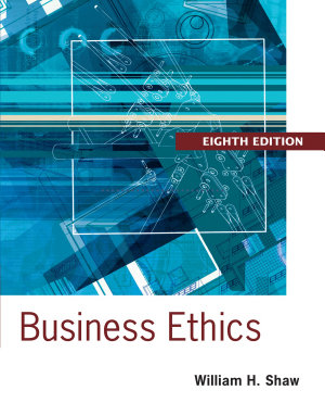 Business Ethics  A Textbook with Cases PDF
