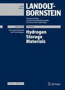 Hydrogen Storage Materials