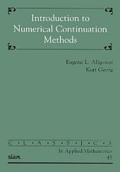 Introduction to Numerical Continuation Methods