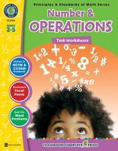 Number & Operations - Task Sheets Gr. 3-5