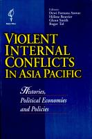 Violent Internal Conflicts in Asia Pacific PDF