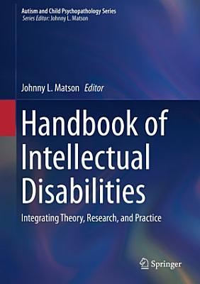 Handbook of Intellectual Disabilities PDF