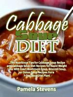 Cabbage Soup Diet  The Nutritious Tips for Cabbage Soup     PDF