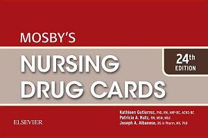 Mosby s Nursing Drug Cards E Book