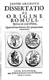 Dissertatio de origine Romuli