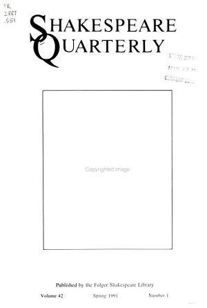 Shakespeare Quarterly PDF