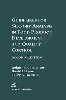 Guidelines for Sensory Analysis in Food Product Development and Quality Control PDF