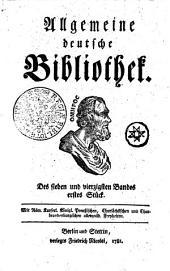 Allgemeine deutsche Bibliothek: Des sieben und vierzigsten Bandes erstes Stück - Des sieben und vierzigsten Bandes zweytes Stück, Band 47