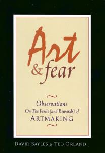 Art   Fear Book