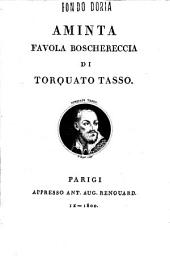 Aminta favola boschereccia di Torquato Tasso