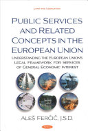 Public Services and Related Concepts in the European Union PDF