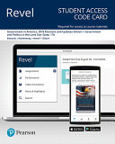 Revel For Government In America Government And Politics In The Lone Star State Access Card Book PDF