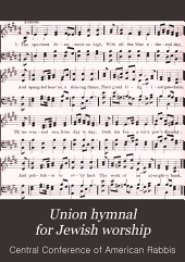 Union hymnal for Jewish worship