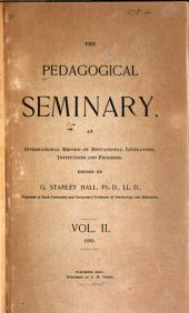 Journal of Genetic Psychology: Volume 2