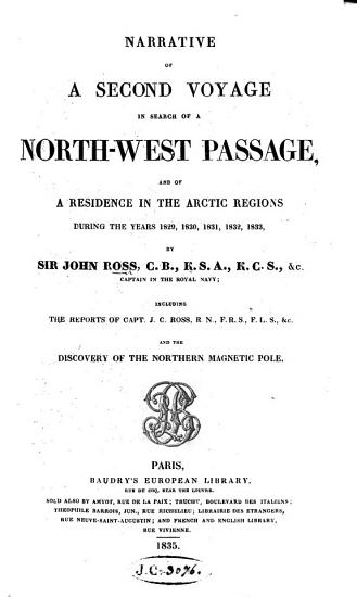 Narrative of a Second Voyage in Search of a North West Passage  etc   With plates and a map   PDF