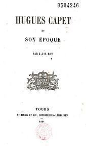 Hugues Capet et son époque