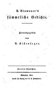 A  Blumauer s s  mmtliche Gedichte PDF