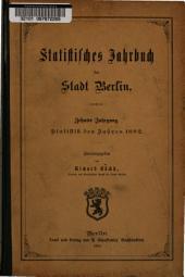 Statistisches Jahrbuch der Stadt Berlin: Band 10