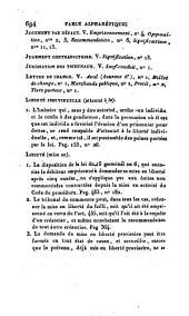 Manuel de la contrainte par corps en matière civile et commerciale, suivi de deux tables, l'une chronologique et l'autre alphabétique