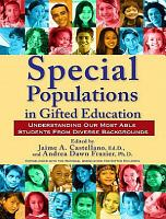 Special Populations in Gifted Education PDF
