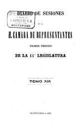 Diario de sesiones de la Cámara de Representantes: Volumen 11