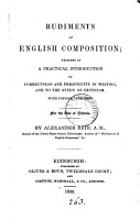 Rudiments of English composition   With  Key PDF