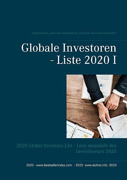 Globale Investoren   Liste 2020 I PDF