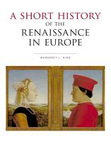 A Short History of the Renaissance in Europe PDF