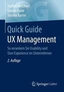 Quick Guide UX Management PDF