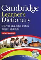 Cambridge Learner s Dictionary English Polish with CD ROM PDF